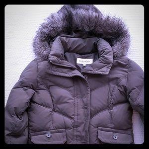 Winter coat with hood